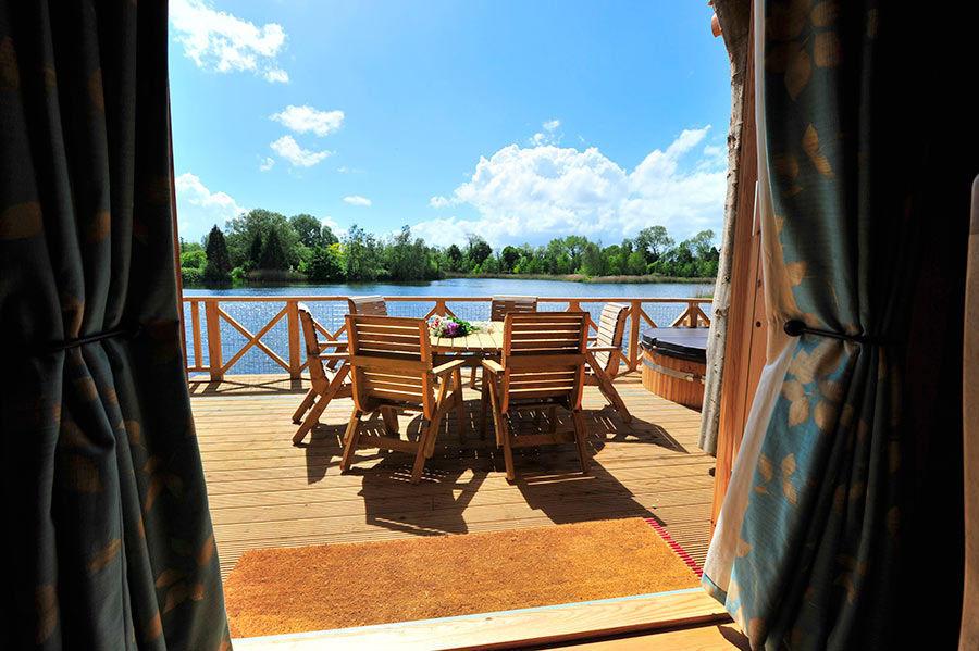 Summer Log Cabin
