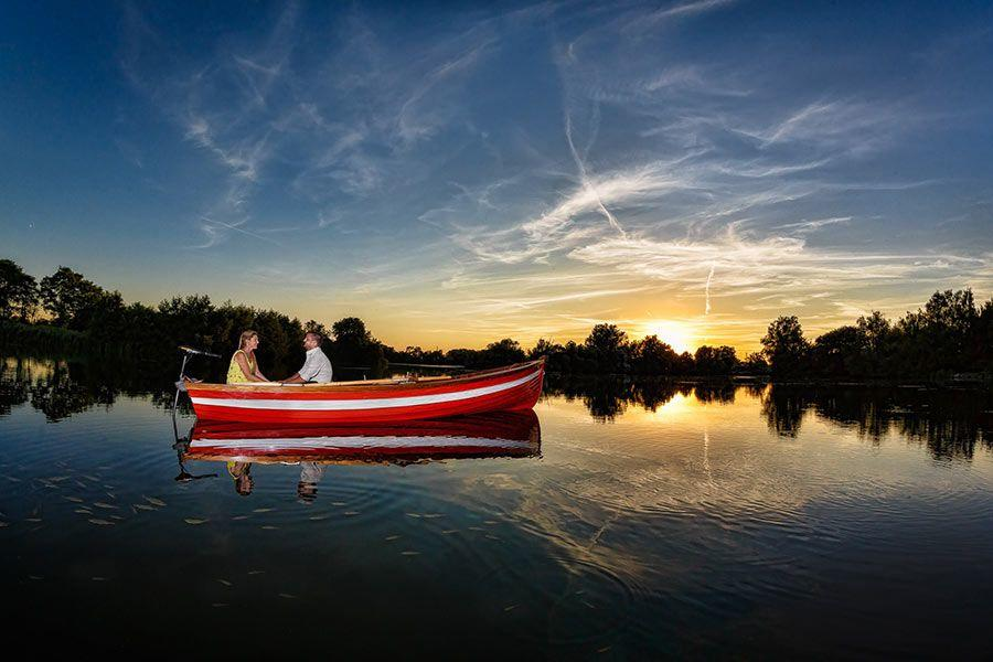 Romantic Rowing Boat